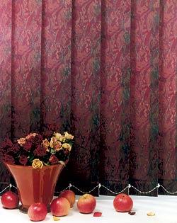 вид ламели из ткани